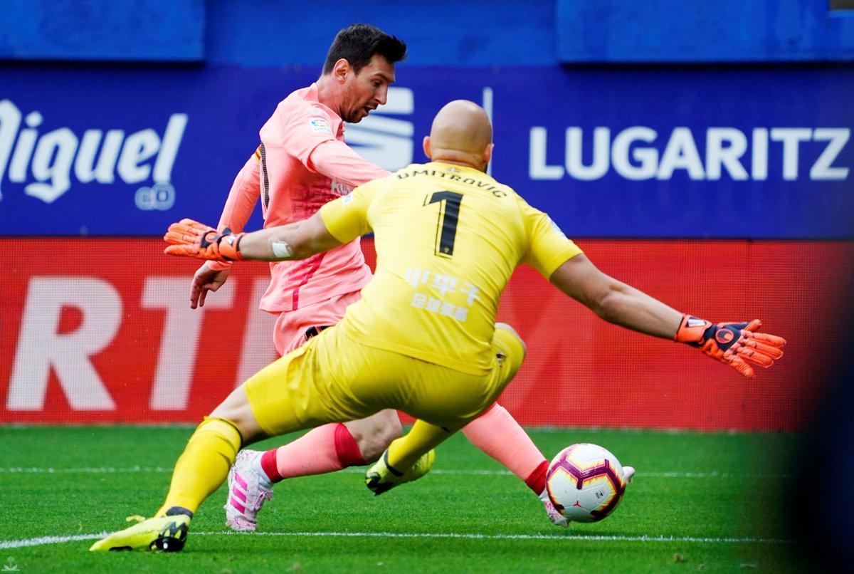 تعادل برشلونة وخسارة ريال مدريد بأخر جولات الدوري الإسباني