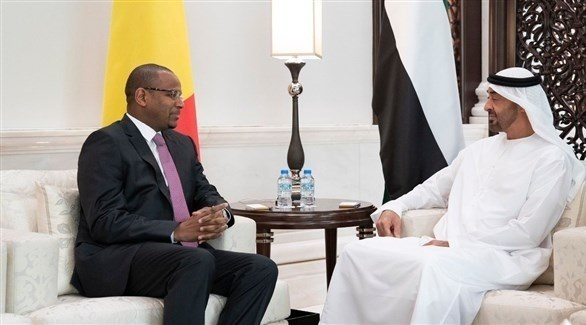 محمد بن زايد يستقبل رئيس وزراء مالي ويوقع معه عدد من الاتفاقيات
