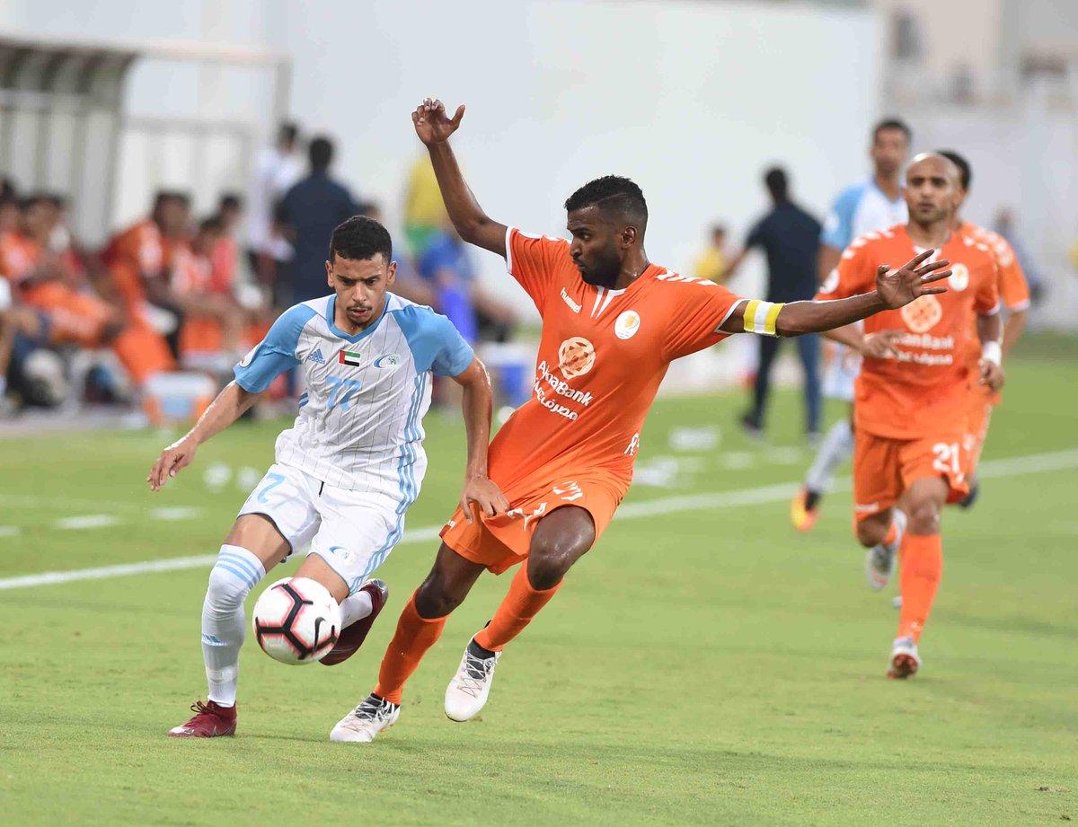 عجمان يتعادل مع بني ياس ويتقاسما معاً نقاط المباراة