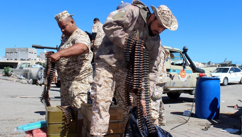 قوات الوفاق تتصدى لهجمات قوات حفتر جنوب طرابلس