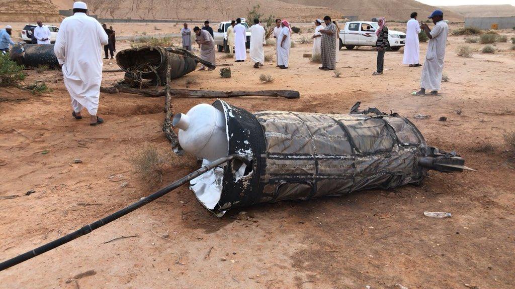 السعودية تعلن التصدى لصواريخ أطلقها الحوثيون باتجاه وزارة الدفاع