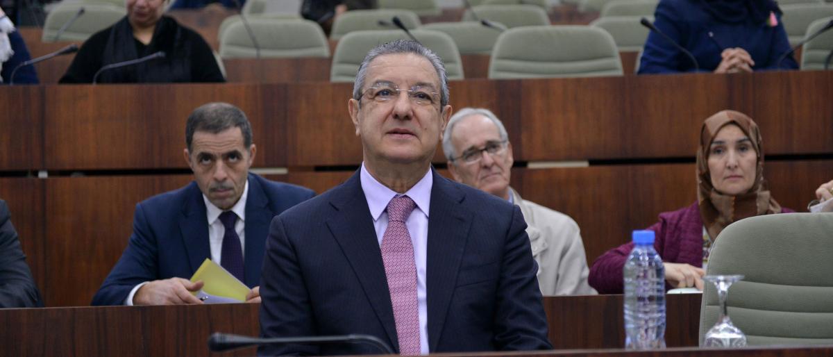محاكمة وزير المالية الجزائري بتهم فساد