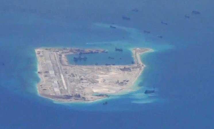 الصين تنشر صواريخ كروز في مواقع ببحر الصين الجنوبي