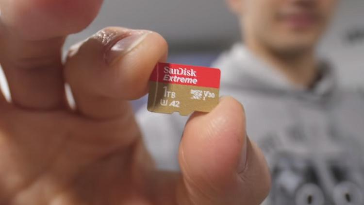 إطلاق أول micro SD في العالم بسعة 1 تيرابايت