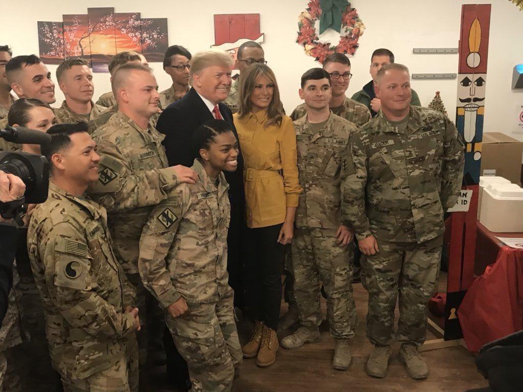 انتقادات عراقية واسعة تعقب زيارة ترامب الخاطفة