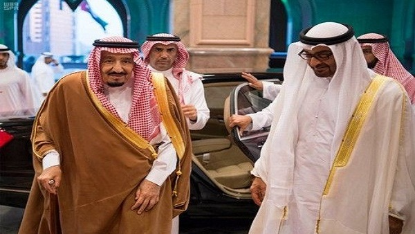 رويترز تعلق على زيارة محمد بن زايد للسعودية: التحالف يتصدع