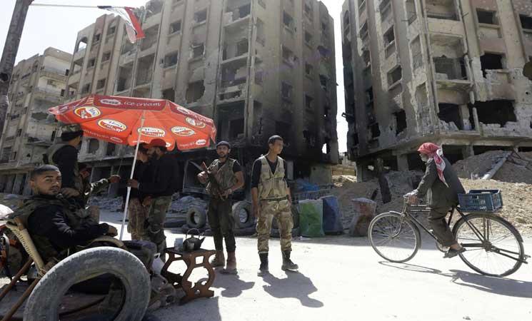 مقتل 25 عنصرا من قوات النظام في هجوم مفاجئ لتنظيم الدولة  شرق سوريا