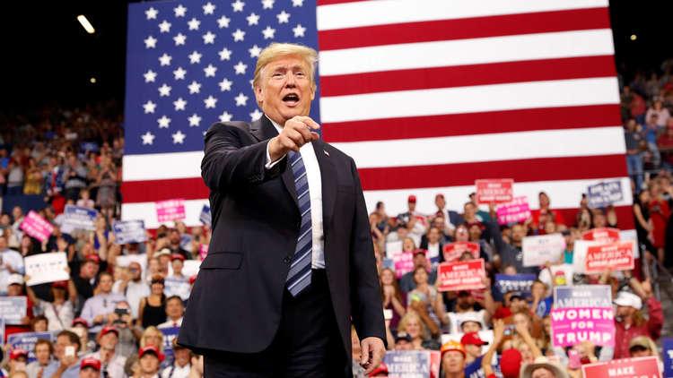 ترامب مخاطبا مناصريه: إذا تم عزلي فالذنب ذنبكم