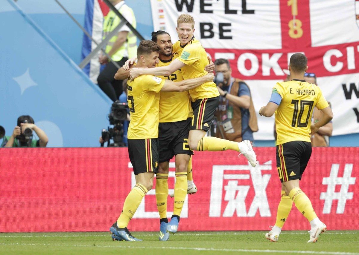 بلجيكا تحرز المركز الثالث في مونديال روسيا
