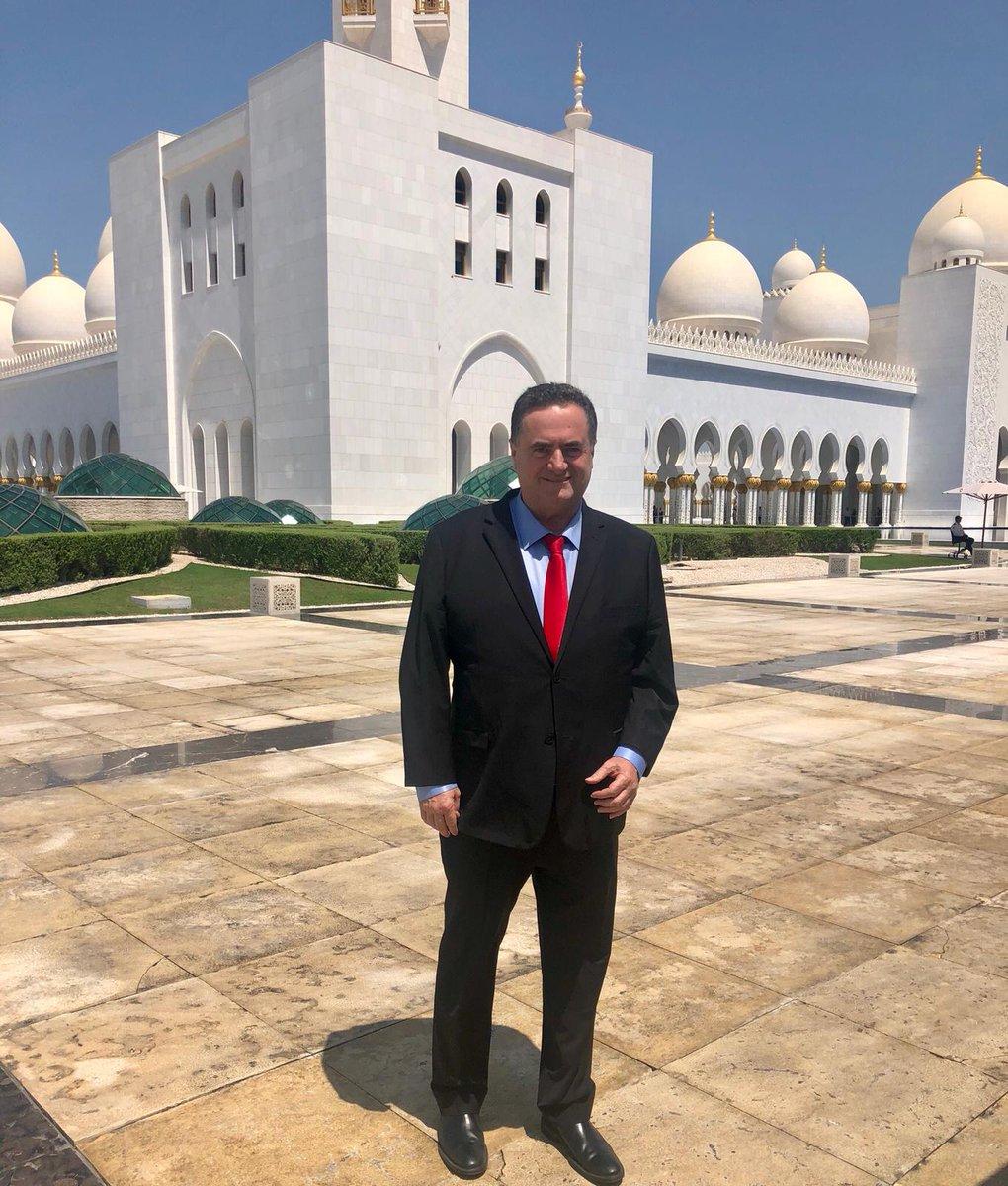 أبوظبي تستقبل وزير الخارجية الإسرائيلي في زيارة سرية