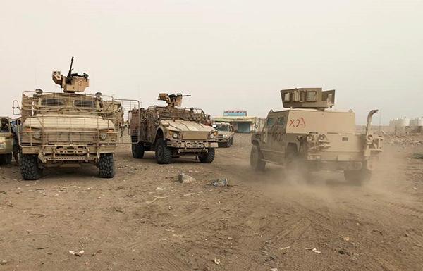 قوات مدعومة إماراتياً تسيطر على الطريق الرئيسي بين الحديدة وصنعاء