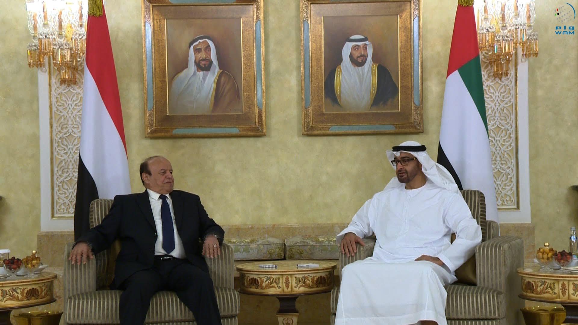 المزاعم مجددا.. أبوظبي تمنع الرئيس اليمني من العودة إلى عدن