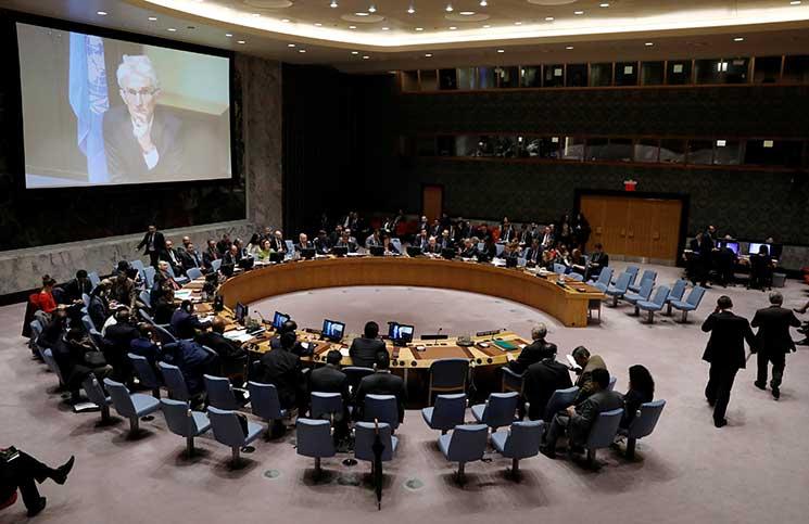 مجلس الأمن يصوت على مقترح الكويت بإرسال قوات دولية لحماية الفلسطينيين
