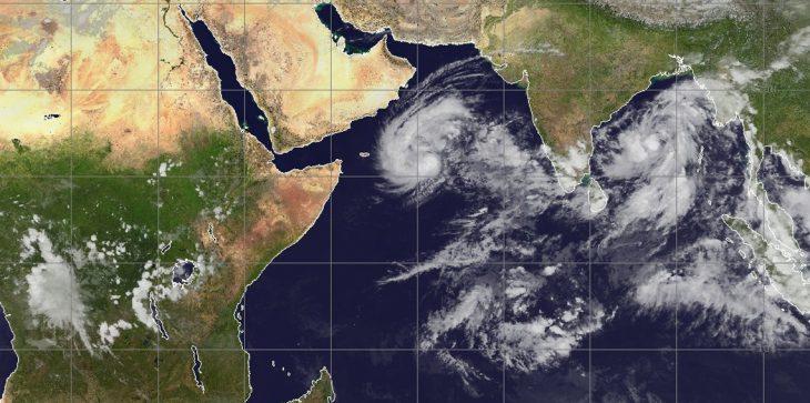 الأرصاد: إعصار لبان يتحول لعاصفة مدارية ولا تأثير له على الدولة