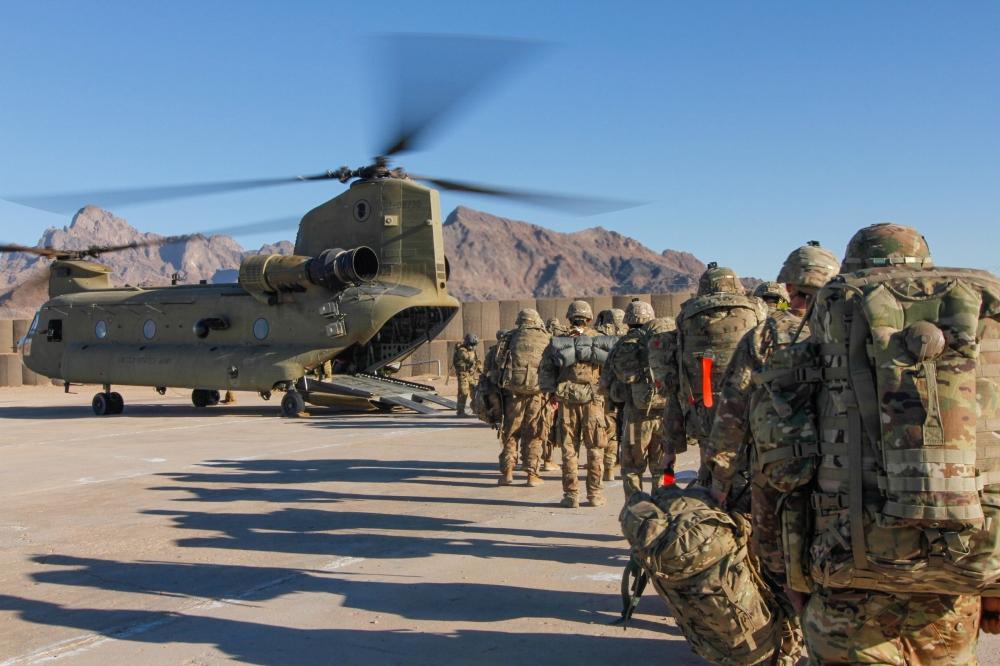 «طالبان»: واشنطن تعهدت سحب  نصف قواتها بحلول نهاية أبريل