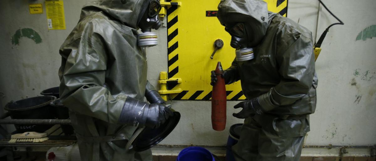 ألمانيا: على نظام الأسد التخلص من أسلحته الكيميائية