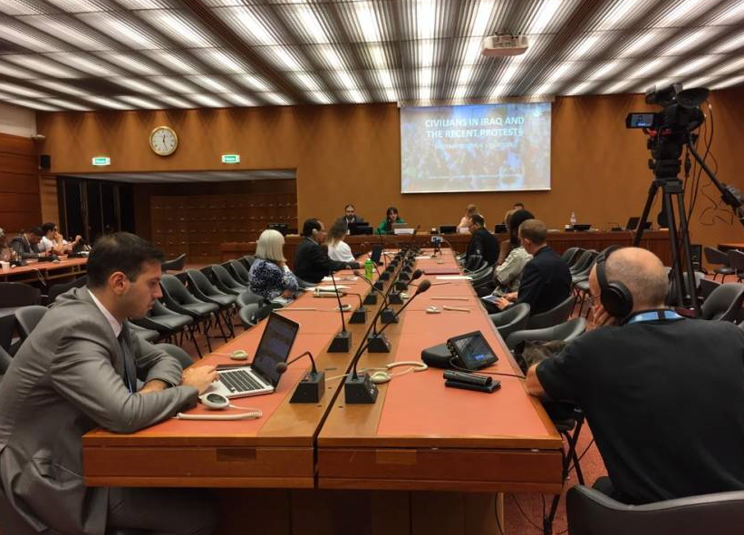 الأورومتوسطي يناقش أوضاع المدافعين عن حقوق الإنسان