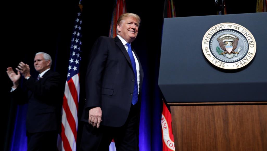 ترامب ينتقد الناتو: واشنطن لا يمكن أن تكون الأحمق الذي يستغله الآخرون