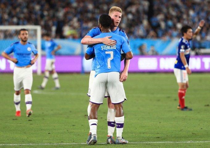 مانشستر سيتي يعبر بطل اليابان بثلاثية استعدادا للدرع الخيرية
