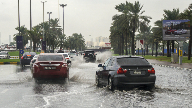 توقعات الأرصاد: أمطار مصحوبة ببرق ورعد على الدولة حتى الأربعاء