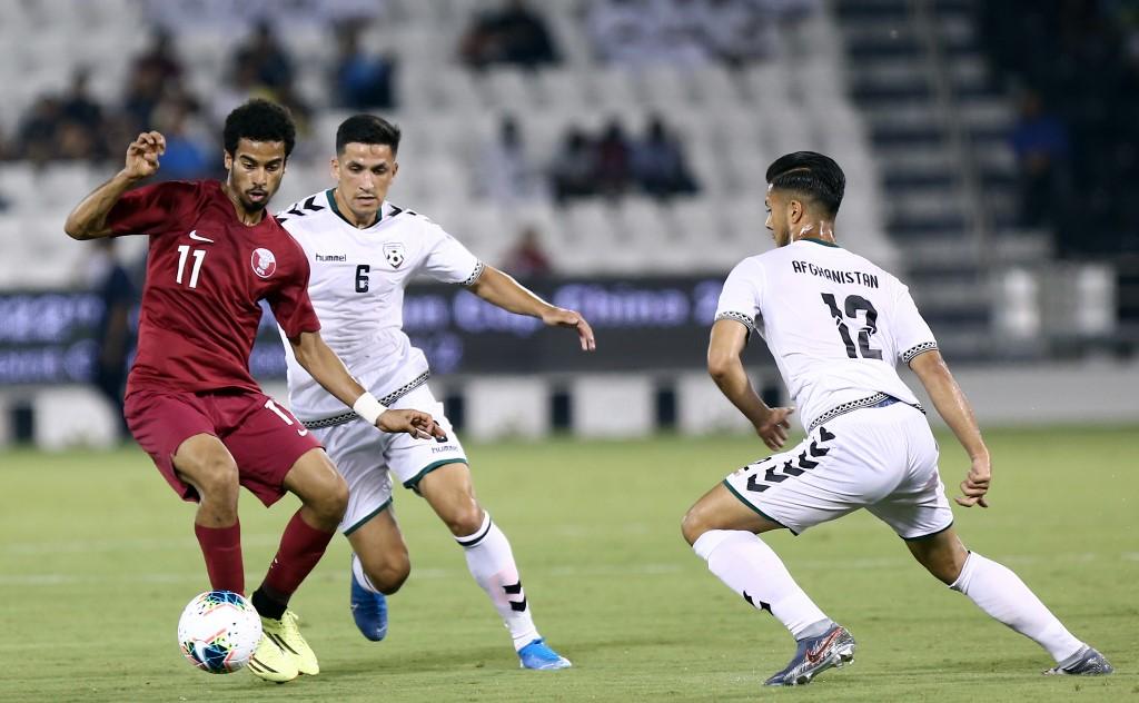 فوز قطري وعماني في تصفيات مونديال 2022 وتعادل العراق مع البحرين