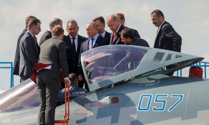 """روسيا تعرض على أردوغان مقاتلة """"سو-57"""" بدل """"إف-35"""" الأمريكية"""
