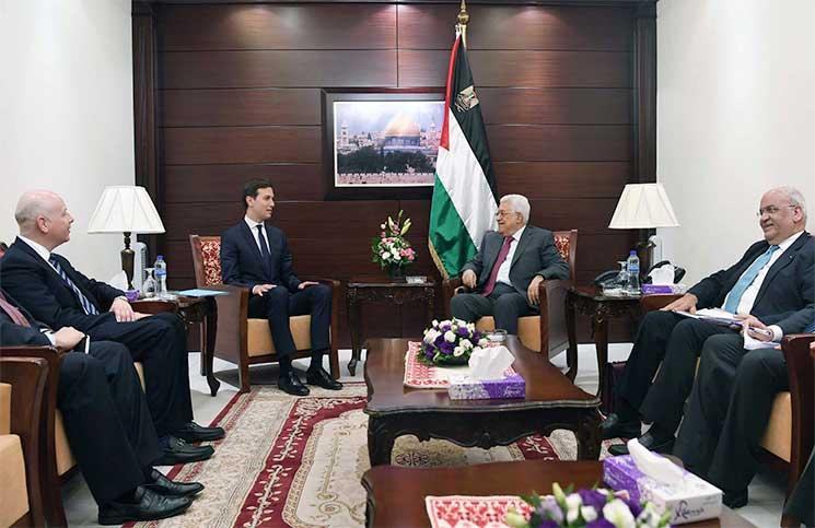 صحيفة إسرائيلية: مصر والأردن السعودية والإمارات تؤيد طرح صفقة القرن رغم الرفض الفلسطيني