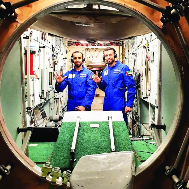 «محمد بن راشد للفضاء» يكشف غداً هوية أول رائد فضاء إماراتي