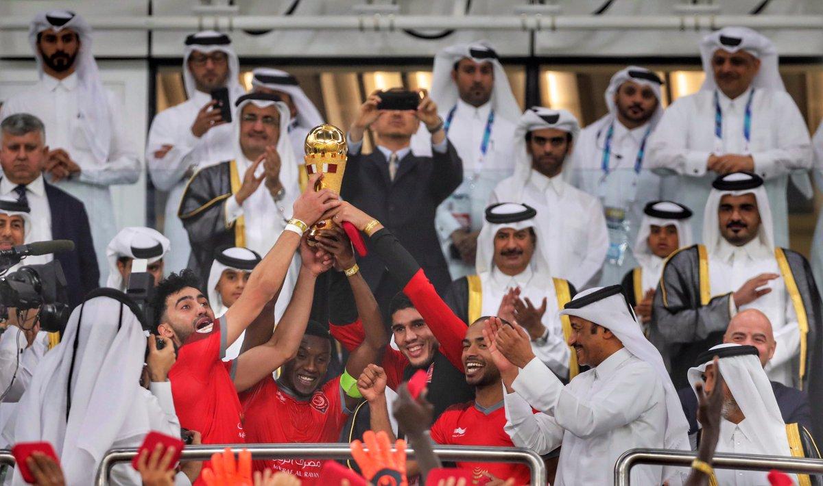 الدحيل بطلًا لكأس قطر للمرة الثالثة بعد تغلبه على السد