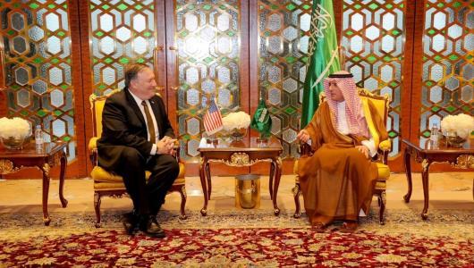 أولى رسائل بومبيو للسعودية: عليكم وقف حصار قطر!