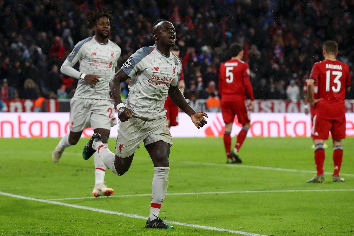 ليفربول يطيح بالبايرن ويتأهل لربع نهائي أبطال أوروبا