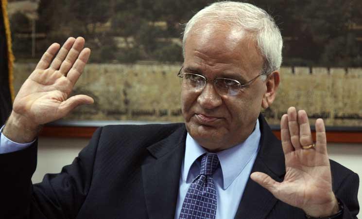 عريقات يتّهم الإدارة الأمريكية بمحاولة فصل غزة عن الضفة