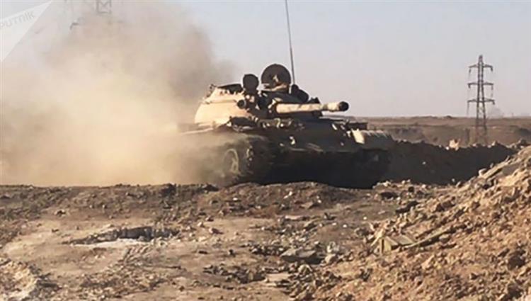 قوات النظام السوري  تكثف هجومها على حماة وإدلب