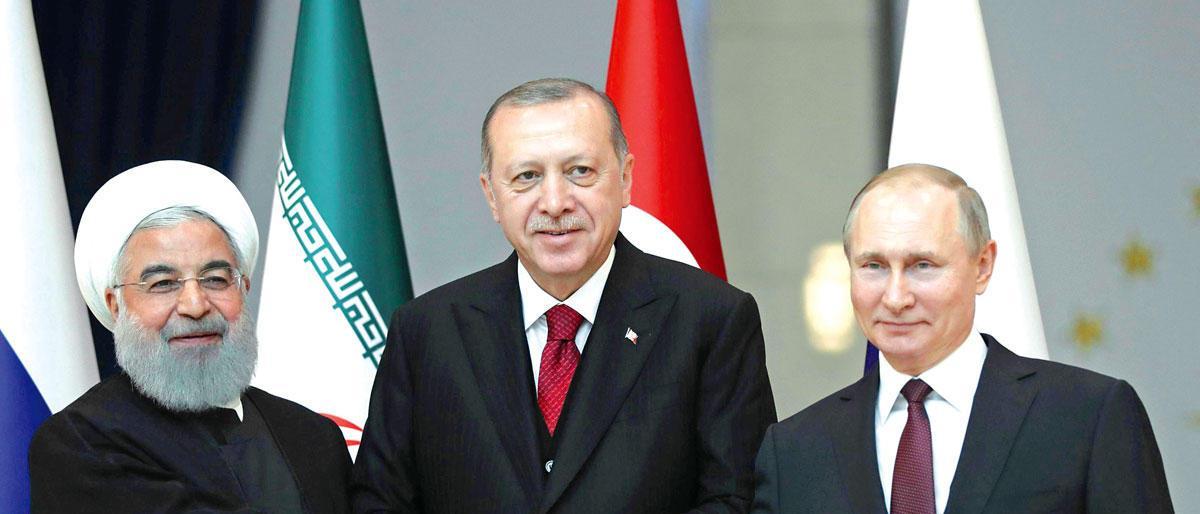 قمّة تركية روسية إيرانية بطهران بشأن إدلب