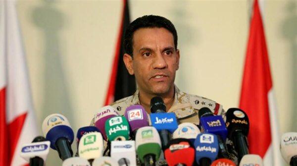 التحالف العربي يتهم الحوثيين بتعطيل حركة السفن والعمل الإنساني في اليمن