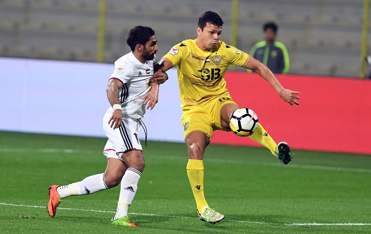 الاتحاد الآسيوي يوقف لاعب الوصل ليما فابيو مباراتين