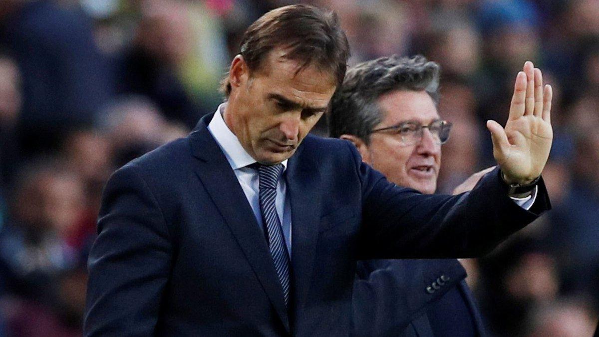 ريال مدريد يُقيل لوبيتيغي عقب الخسارة الخمساية في كلاسيكو الأرض