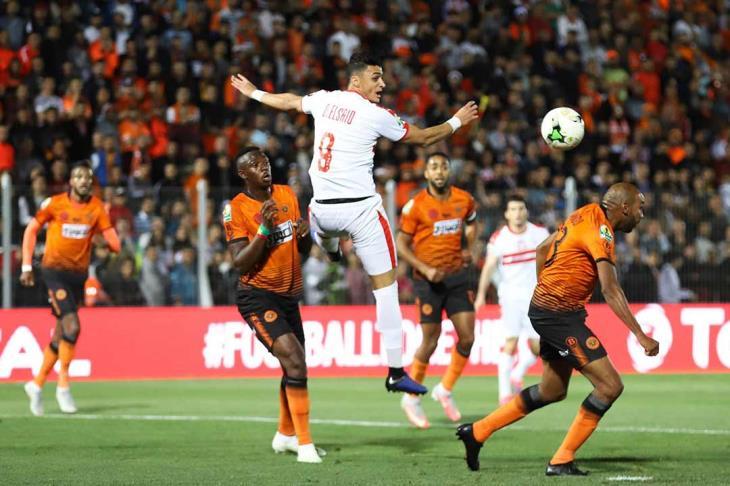 بركان المغربي يفوز على الزمالك المصري في نهائي كأس الاتحاد الأفريقي