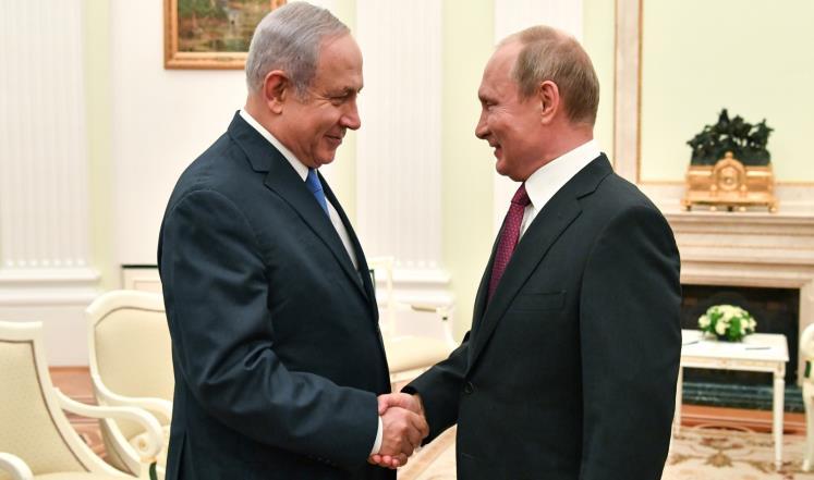 نتنياهو لبوتين: إسرائيل ليست تهديدا على نظام الأسد