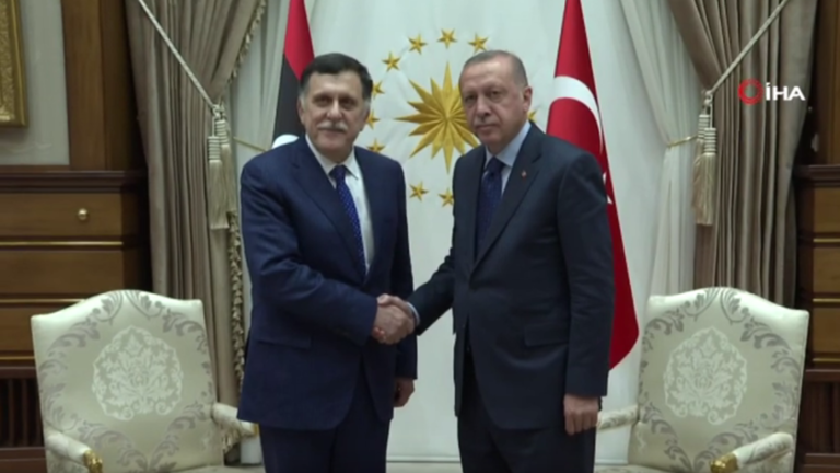 أردوغان: سنقف بكل حزم مع حكومة الوفاق الوطني