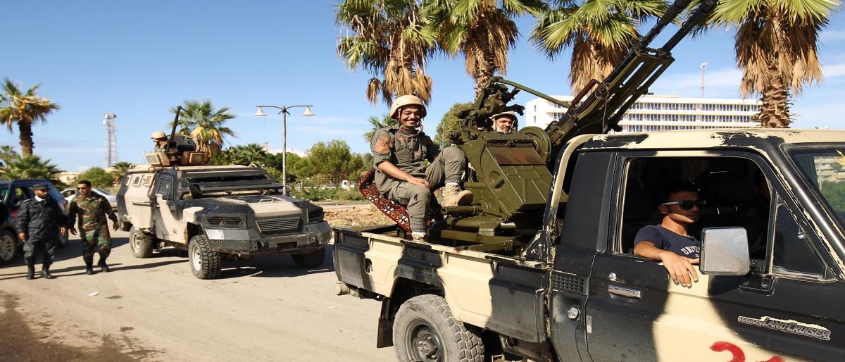 ليبيا.. تجدد الاشتباك بمحيط مطار طرابلس