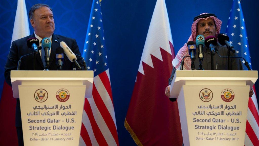بومبيو من قطر: مقتل خاشقجي غير مقبول وسنتأكد من الحصول على كافة الحقائق