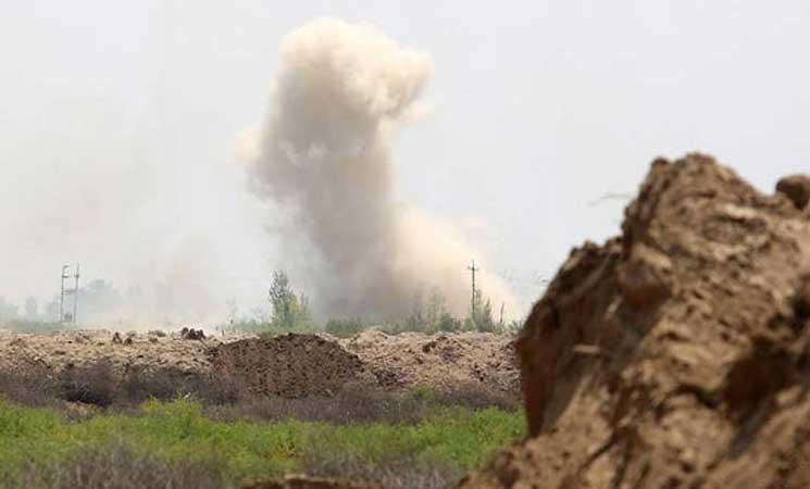 مصدر فلسطيني: قذيفتان مصدرهما مصر تسقطان داخل غزة
