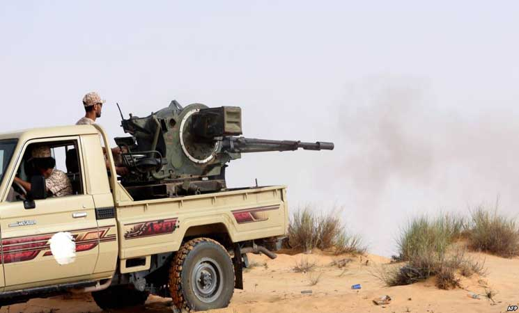 ليبيا.. مقتل عسكريين من قوات حفتر في اشتباك مع عناصر داعش