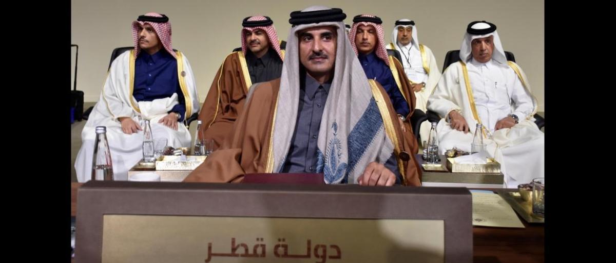 أمير قطر: شاركت في قمة بيروت حرصاً على العمل العربي المشترك