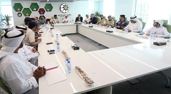 رابطة المحترفين تناقش متطلبات الجماهير مع الجهات الأمنية