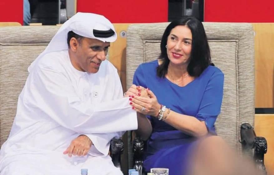 الوزيرة الصهيونية ريغيف التي وصفت الآذان بأنه صراخ كلاب محمد بضيافة أبوظبي