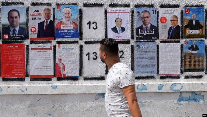 التونسيون بالخارج يدلون بأصواتهم في انتخابات الرئاسة
