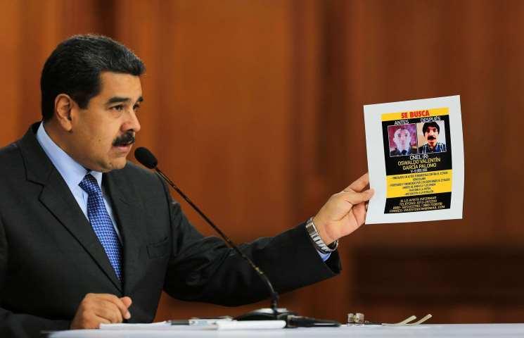 فنزويلا تطلب من الولايات المتحدة تسليم العقل المدبر لمحاولة اغتيال مادورو