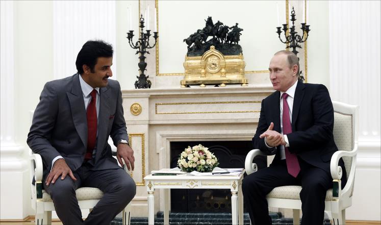 بوتين يسلم الأحد راية كأس العالم لكرة القدم لأمير قطر